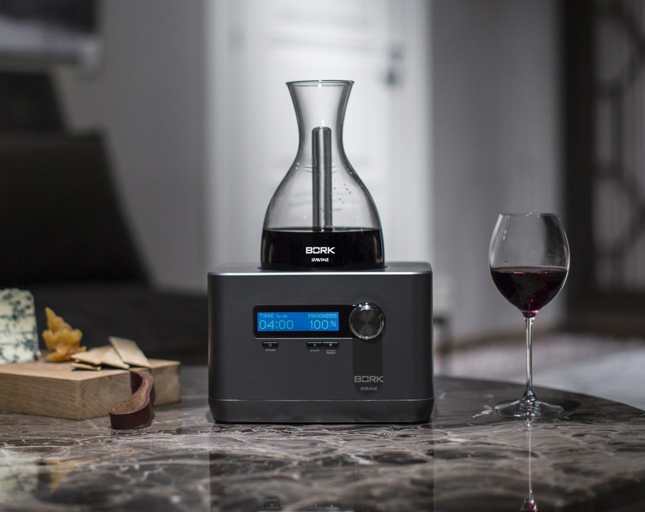 фото декантер для вина BORK