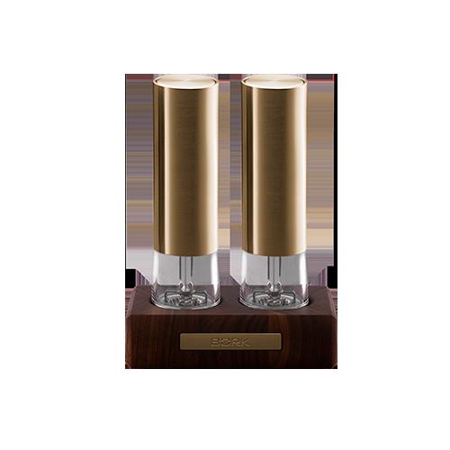 Набор мельниц для специй HM512 Gold Exclusive BORK