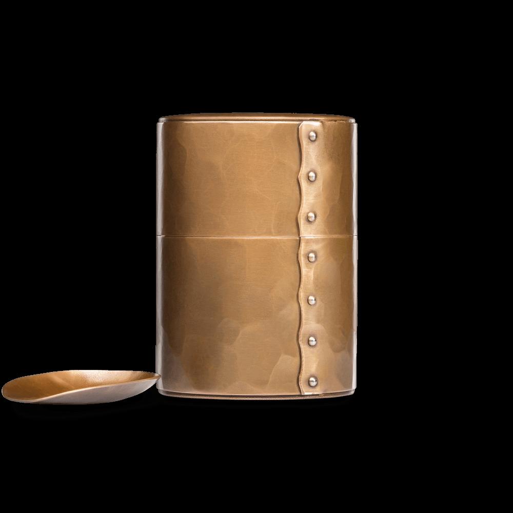 Кованая банка для чая с мерной ложкой BORK TC723 - купить в официальном интернет-магазине БОРК