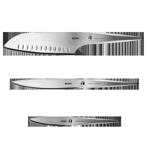 Набор из 3 ножей BORK - купить в официальном интернет-магазине БОРК