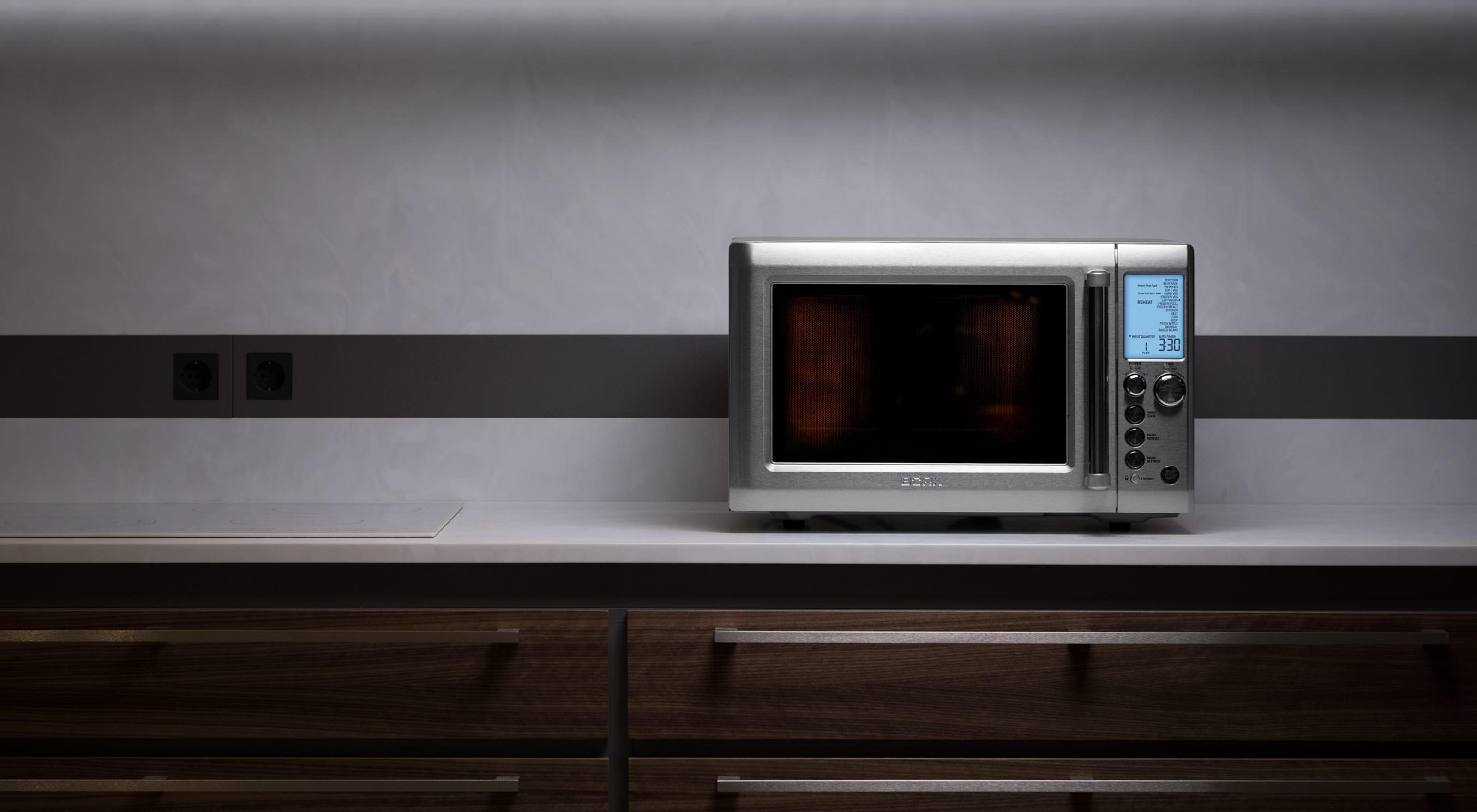 Overview of the microwave oven Bork W521