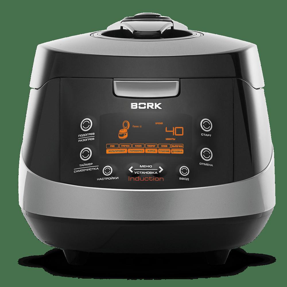 Индукционный мультишеф BORK U701 Black - купить в официальном интернет-магазине БОРК