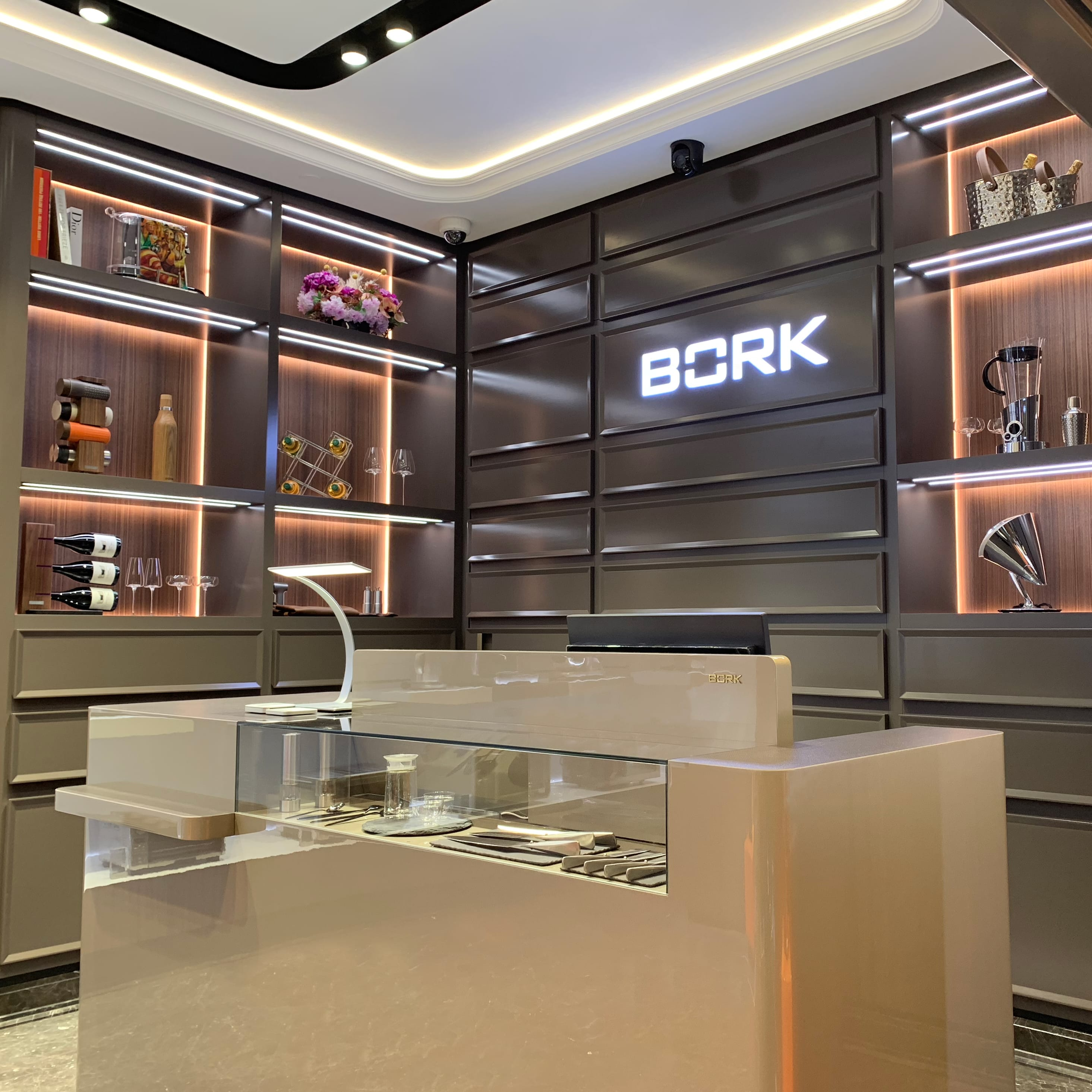 Новый бутик BORK в Алматы