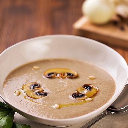 Суп пюре из шампиньонов